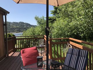 Where the river meets the beautiful Oregon Coastline.