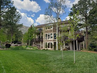Broadmoor Area..Overlooking Golf Course, 4 Decks, Golf course/city/mtn views!!
