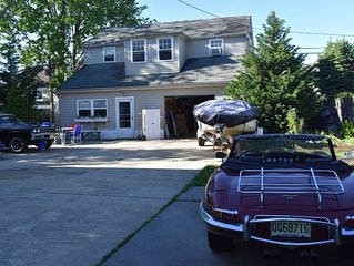 Secluded Carriage House Asbury Park - 4 block walk to beach & boardwalk