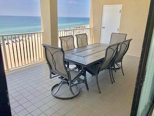Huge Balcony With Beautiful Gulf Views!