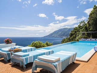 ViIEWS, position & accessibility. Sep- Oct HEATED marine pool,  private to sea.