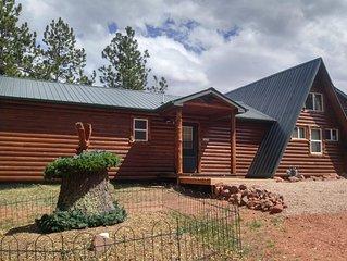 Beautiful Mountain Cabin With Beautiful Pikes Peak Views !