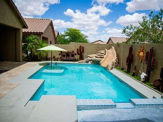 Large 5 bedroom home with beautiful Pool and Hot Tub