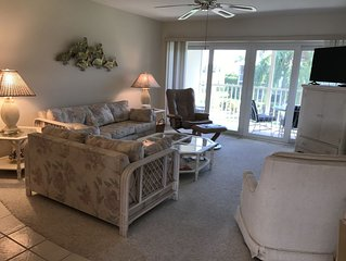 BEACHVIEW CONDO across the street from RESIDENTS BEACH - 2 Bdrm, 2 Bath.