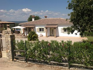 Beautiful detached villa with pool, gardens and wonderful views