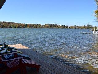 Shoreline Pines-Lake Leelanau-Main house & guest house-Pet ok