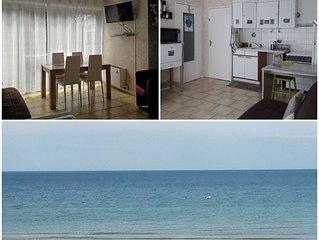 T2 pour 2/4 pers 31m² à 300ms de la plage et commerces + parking privé