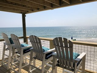Gulf Front- Immaculate 3 BR condo- 50 steps to the water!