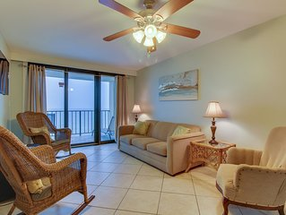Waterfront condo w/ incredible beach access, shared pool, hot tub, & more!