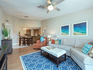 Beautiful Vista Verde West condo on Isla Del Sol. 1.5 miles to St. Pete Beach.