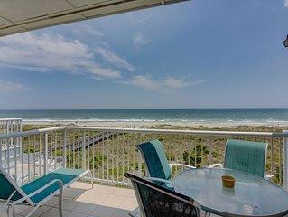 Wrightsville Dunes 3B-F - Oceanfront condo with community pool, tennis, beach