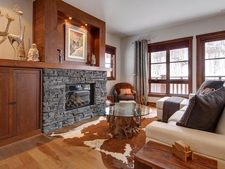 BEST SKI IN-OUT in Tremblant!  CHIC chalet overlooking ski slopes!!!