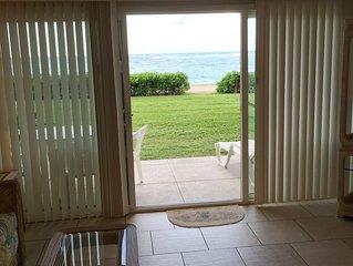 Beach Front-Ground Floor~Pono Kai Resort w/AC