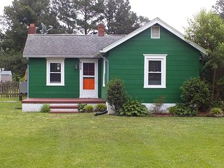 The Flying Goose: Chincoteague Island Bungalow W/ 2 Bedrooms And Guest House