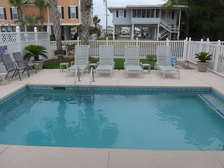 GREAT HOUSE & LOCATION - Oceanview from Master Balcony/Walk to the Beach
