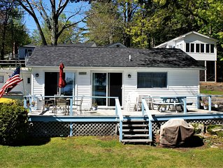 Beautiful Lakefront Cottage with 21' dock space