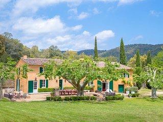 Provence Country Villa - 6 BR, Pool & Garden