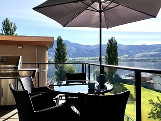 Osoyoos, Lake View Suite/Water front complex, Pool, Hot Tub and Private beach