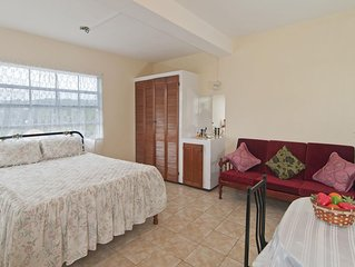 1-Bedroom Apartment with Air-conditioning & Patio