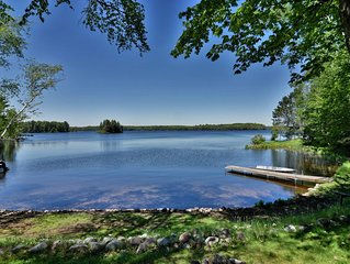 Butler's Bay Teal Lake Cabin