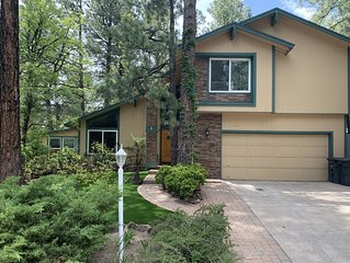 Voted a VRBO Flagstaff favorite!  Great mountain location with spa, super clean.