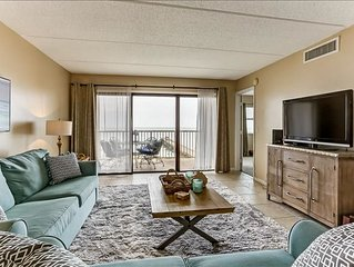 5th Floor condo and private balcony.  Enjoy exclusive fishing pier and easy beac