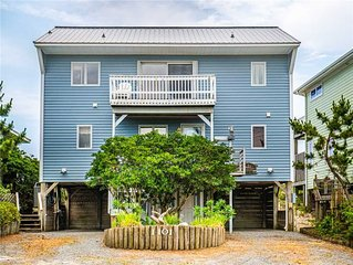 SEA~DUCTION: 3 BR / 2 BA oceanfront in Topsail Beach, Sleeps 6