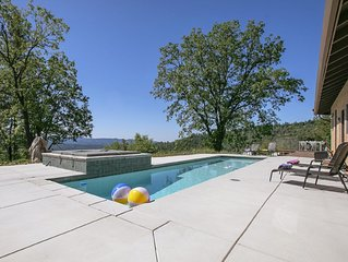 Private Ranch w/Views & Pool, Minutes to Downtown Murphys, 30 mi. to Bear Valley