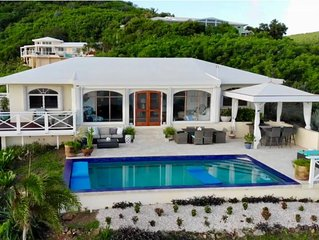 �Villa Bliss� Stunning Views of Buck Island, Yacht Club, St. Thomas & BVI