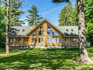 Lexington - Lake Huron - Large Log Home - Sandy Beach/Sunrise