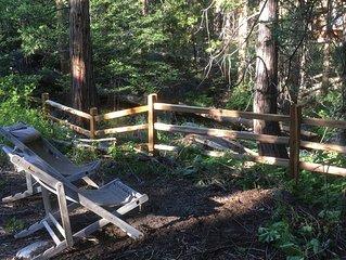 DAY DREAMER'S w/ private HOT TUB, Romantic Retreat at Strawberry Creek Village!
