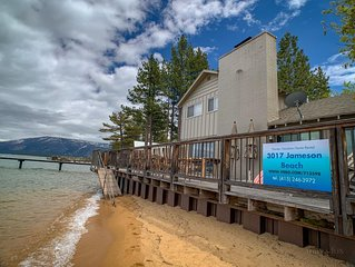 Beachfront Rental in South Lake Tahoe - Private Community