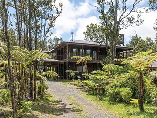 Volcano Forest House next to Volcano National Park * Discounts Available*