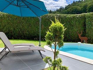 Gite tout confort, calme et indépendant avec piscine au coeur des Vosges du Nord