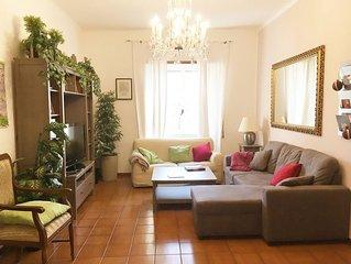 Trastevere appartamento per famiglie - wi-fi, AC, parcheggio gratuito