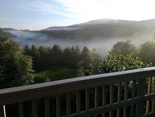Panoramic Long Range Views off 2 Decks & Close to Everything!