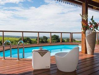Villa de standing vue panoramique mer et montagne