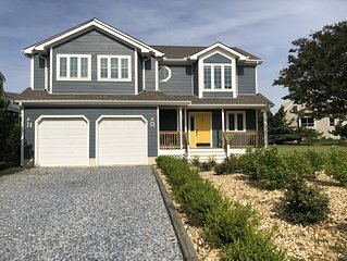 STEPS to the beach, in sought after Cape Shores with Private Pier