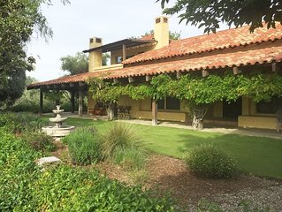 Paso Robles Wine Country-Silver Owl Cellars & Vineyard (Private Po