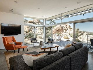 Dwell Published Modern Home Near Joshua Tree National Park: Rock Reach House