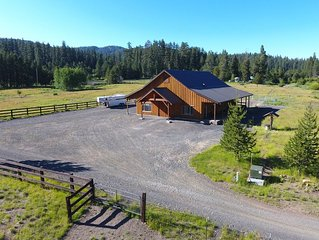 New Barn Dominiam on Marks Creek, next to Ochoco National Forest