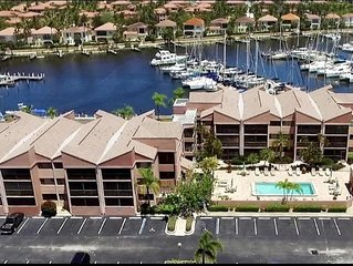 Stunning Burnt Store Marina, 1 Bedroom Condo..Updated in 2019