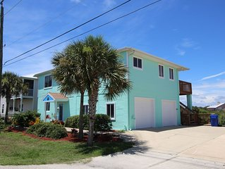 Great Beach Location South Of St. Augustine! 4Br/3Ba Home