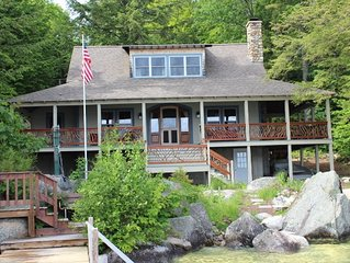 SWE175Wfa - Great Lake Winni Waterfront Home