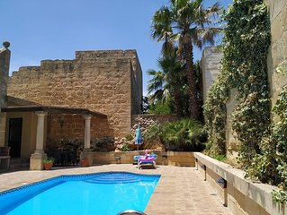 Fantastic House Of Character With Own Private Swimming Pool And BBQ Area