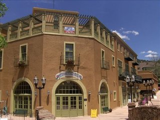 Spacious Loft In Historic Manitou Spa Building In Center Of Downtown Manitou