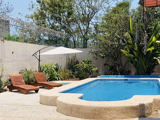 CASA BALAM: Guayabitos! beautiful house with private pool