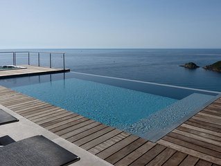 Villa de standing 5*vue mer panoramique piscine privee chauffee + SPA