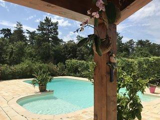 Gite dans une bastide provencale avec piscine