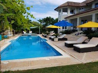 Sosua's #1 Bachelor Party, Private Luxury Villa- Chef, Maid, Wi-Fi, A/C